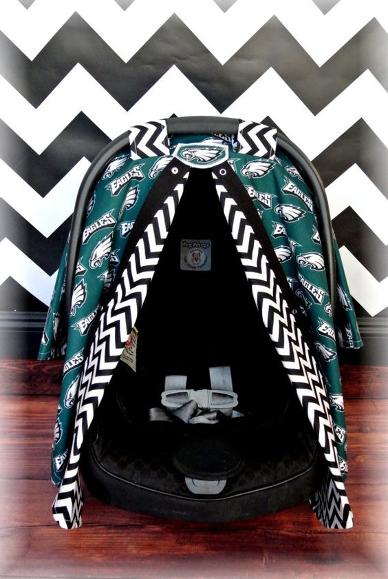 Philadelphia Eagles Baby Car Seat Covers