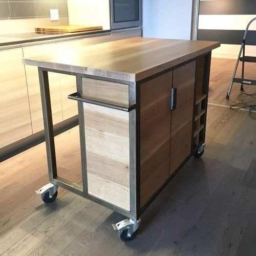 Barras De Cocina Estilo Industrial Buscar Con Google Cocina Estilo Industrial Muebles De Metal Muebles Hierro Y Madera