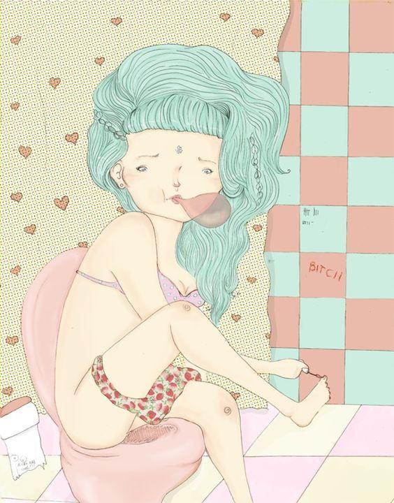 As ilustrações de Asaph Luccas | Vitrola 3.000 | Matheus Martins