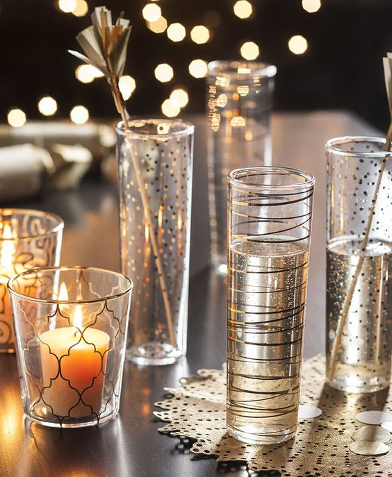 Luxe Moderne Flutes-Set of 4