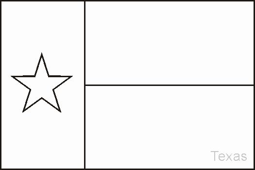 Texas Flag Coloring Page Fresh Texas State Flag Coloring Sheet In 2020 Flag Coloring Pages Texas Flags Flag Template