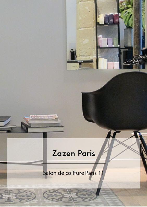 zazen paris salon de coiffure paris 11 salons pinterest coiffures paris et salons. Black Bedroom Furniture Sets. Home Design Ideas