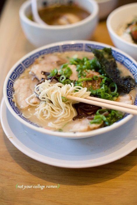 Tsujita Artisan Noodles in West LA