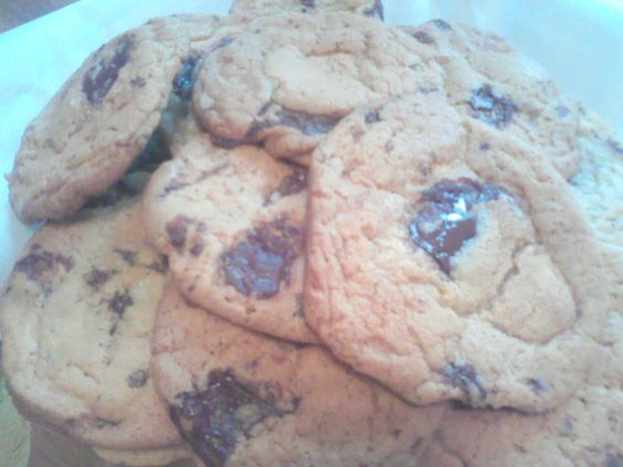 Tender Crumb Chocolate Chip Cookies...expensive to make but tasty to eat!