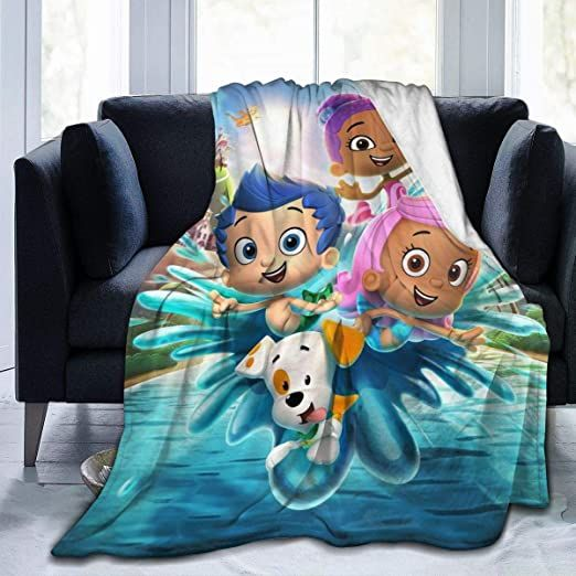 Josephhenkle Soft Micro Fleece Blanket For Bed Sofa Couch Chair Bubble Guppies Throws Gift 60 Quot X50 Quot In 2020 Sofa Couch Bed Couch Chair Fleece Blanket