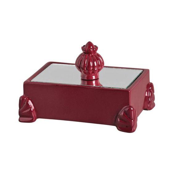 Porta-joias em Cerâmica Marsala | Cerâmica Burguina