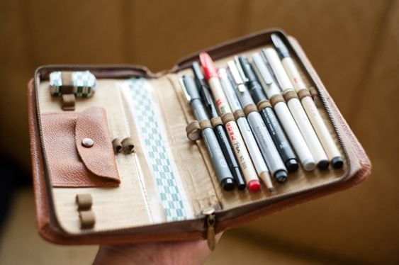 Cute: Craft, Idea, Pen Holders, Office Supplies, Pencil Cases, Pencilcases, Art Supplies, Art Journaling