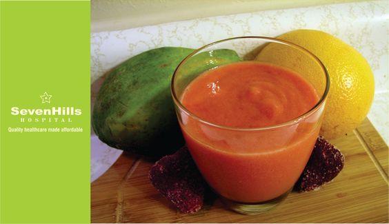 Papaya Oragne Smoothie - Health Recipe