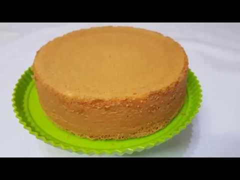 الكيكة الاسفنجية البسيطة والعادية بدون محسن Youtube Desserts Cheesecake Cake
