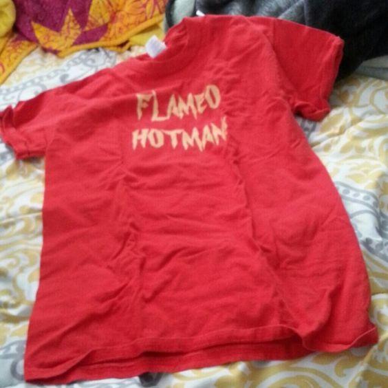Atla avatar flameo hotman t shirt Pre loved but still funny! Tops Tees - Short Sleeve