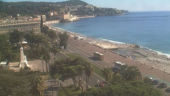 Room with a View - Le Méridien Nice - Baie des Anges Webcam