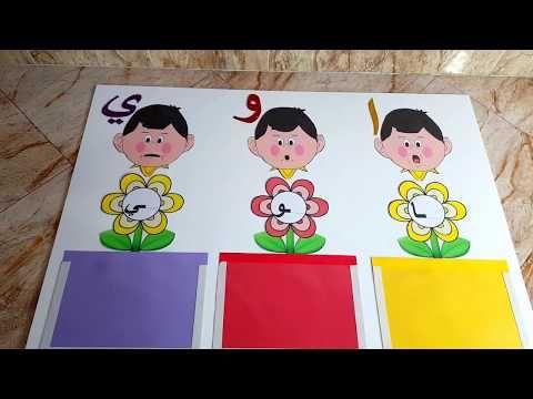 طريقة عمل وسيلة رائعه للمدود موضوع وسيلتنا اليوم عن المدود الطويلة ا و ي In 2021 Alphabet Activities Kindergarten Alphabet Activities Toddler Learning Activities