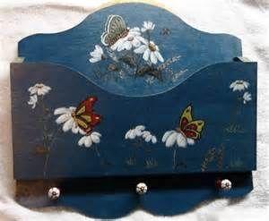 Peinture d corative sur bois peinture pinterest for Peinture decoration