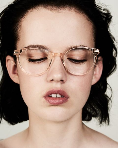 Ace & Tate Morris in Fizz   Glasses, Cute frames, Brushed silver