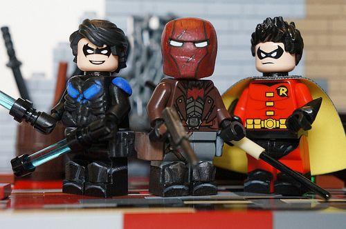New Version DC Comics Batman Who Laughes Minifigure Rare Custom Legoing Robin