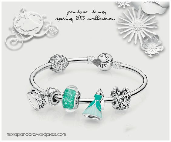 Pandora Disney Princess - Ariel Mermaid Bracelet