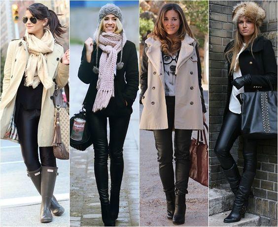Como usar looks de inverno intenso frio 023: