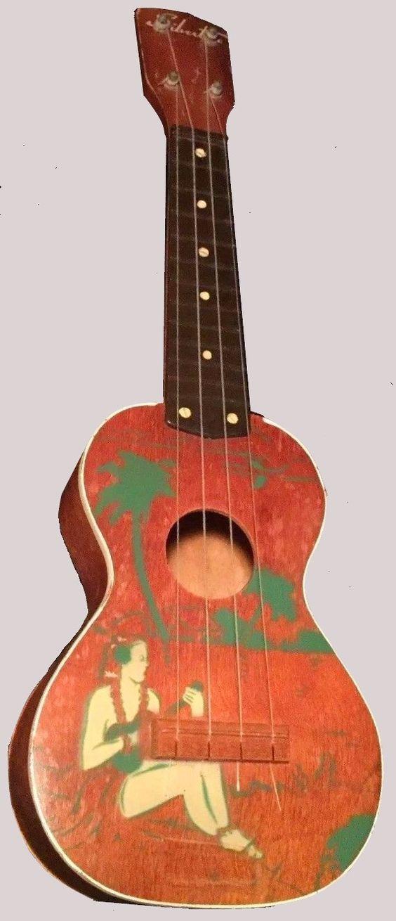 Harmony Silvertone player plastic fretboard