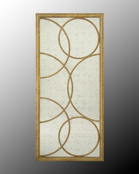 Pinterest the world s catalog of ideas for Gold frame floor mirror