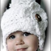 Winter White Crochet Hat Pattern  - via @Craftsy