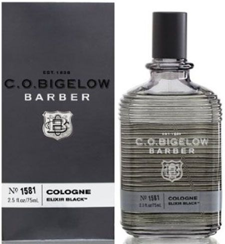 3. C.O Bigelow Elixir Black 2.5 oz Cologne Spray