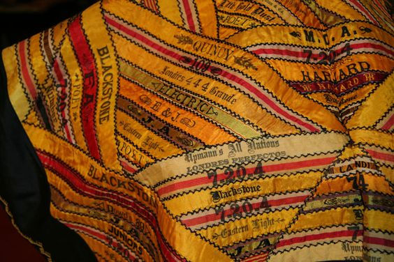 American Quilters | Vintage Textiles - Handmade Vintage Ties, Bow Ties, Pocket Squares, and Men's Furnishings - General Knot & Co.