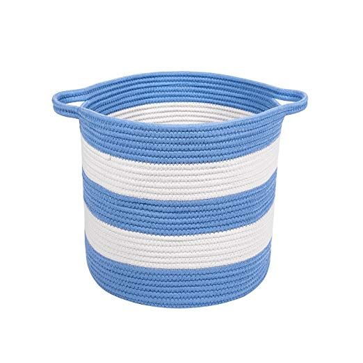 Amazon Com M2 Home Accessories Cotton Rope Storage Basket With