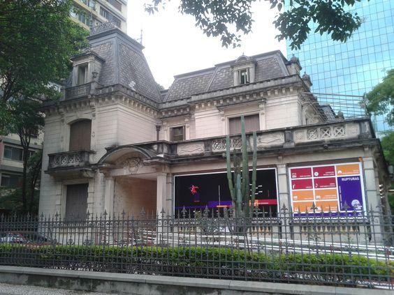 Acesso principal Casa das Rosas, São Paulo, SP, Brasil