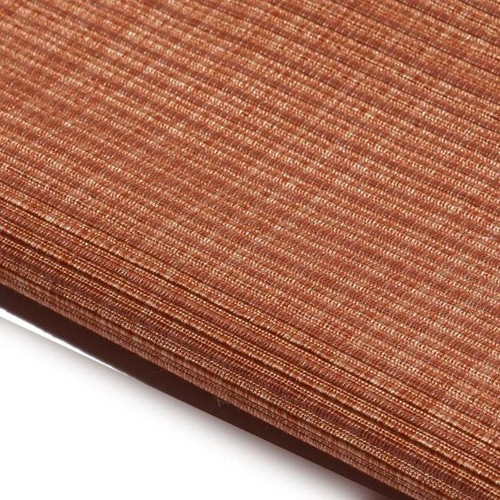 Universal Cloth # 3250-10 UNIVERSAL CLOTH advises with authority. Finished with Greenshield™, can be treated to pass NFPA 701 small scale commercial drapery. Universally appealing. #heavyduty #upholstery #orange #ribbed #texture #woven