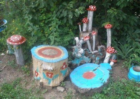 coole bastelidee für kinder und für DIY Gartendeko