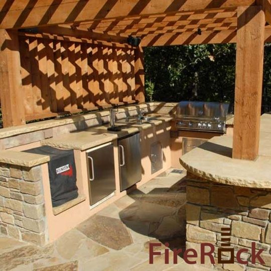Firerock Outdoor Fireplace Kit Firerock Building Materials Remodeling House Pinterest