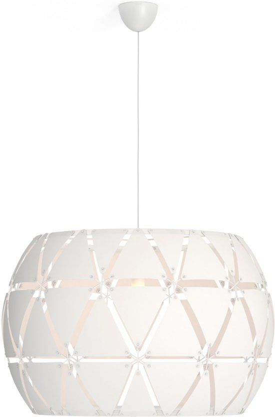 Philips Sandalwood 80cm Hanglamp 1 Lichtpunt Wit Hanglamp Zolder En Vliering Lampen