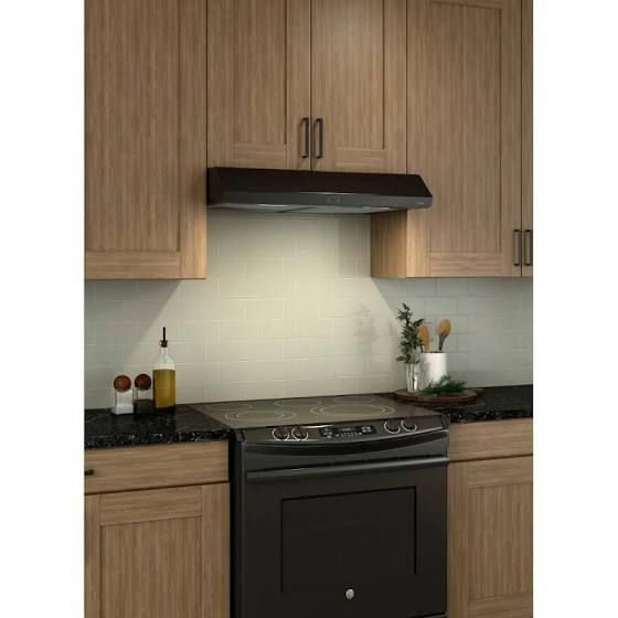 Broan Nutone Bkdb136bl Sahale Range Hood With Led Light 36 Inch Black Google Shopping In 2020 Broan Range Hood Single Electric Wall Oven