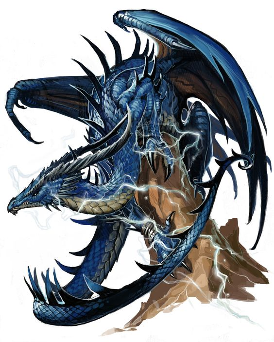 Blauer Drache (Drache)