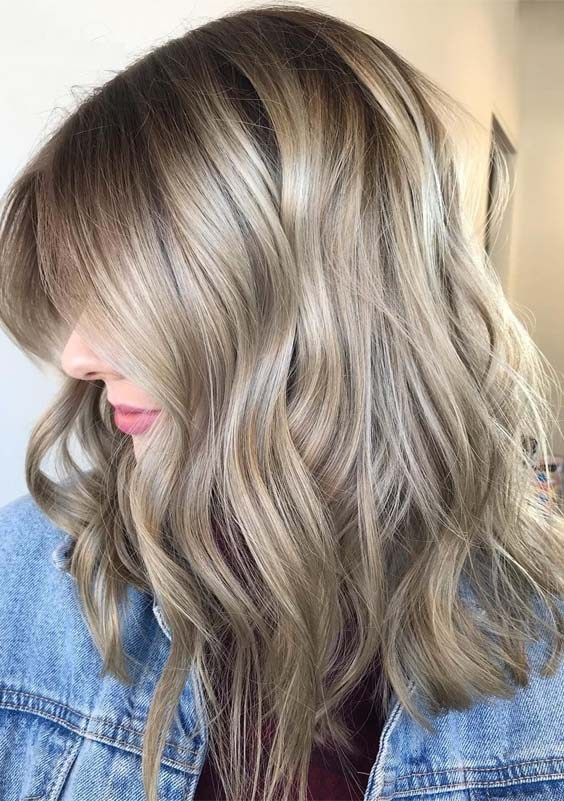 Cutest Rooty Beige Blonde Hair Color Shades For Women 2019 Beige