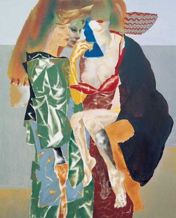 Temür Köran, 1960İsimsiz (Üç figür), 2003 Tuval üzerine yağlıboya 160 x 130 cm İstanbul Modern Koleksiyonu / Oya - Bülent Eczacıbaşı Bağışı