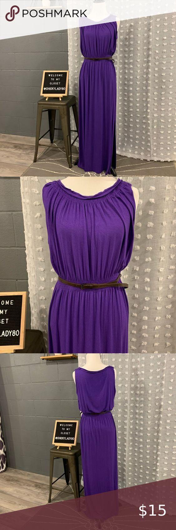 Tahari Purple Maxi Dress Purple Maxi Purple Maxi Dress Maxi Dress [ 1692 x 564 Pixel ]