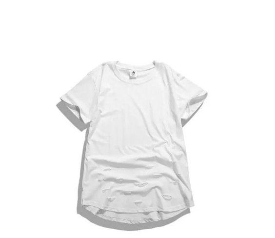 Destroyed Kanye West Style Shirt