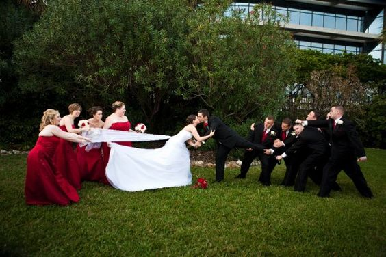 Fun wedding pic