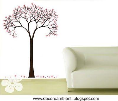 Linda árvore, sútil e perfeita
