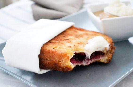 Die etwas andere Nachspeise ist dieser süße Toast. Dieses #Rezept stammt aus Ägypten.