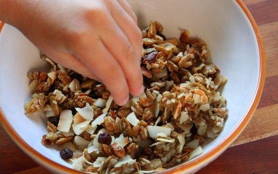 GAPS-friendly granola