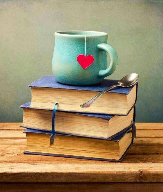 Time to have a tea... and read a book!
