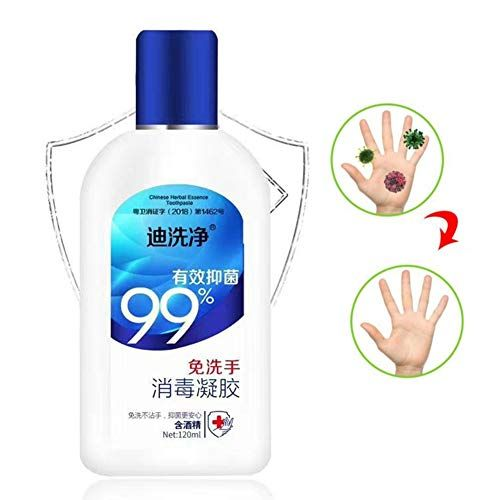 Ictology Disposable Hand Sanitizer Containing 75 Alcohol