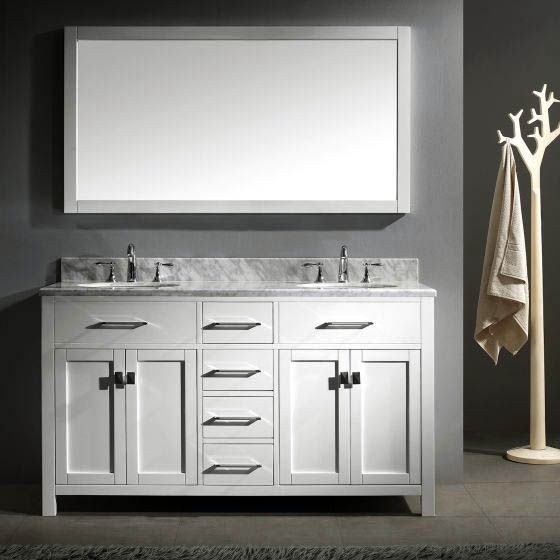 Fascinating Modern Bathroom Vanities Clearance To Refresh Your Home White Vanity Bathroom Double Sink Bathroom Vanity Bathroom Sink Vanity