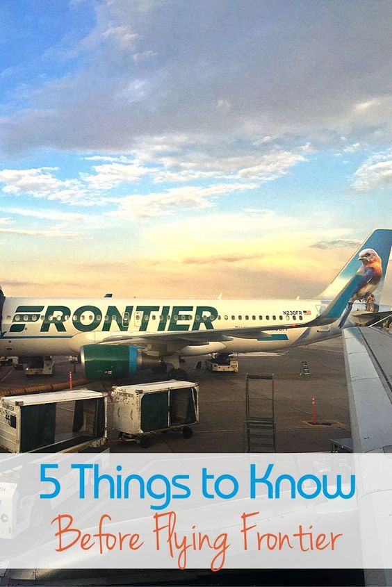 Flying Frontier Airlines: Know Before You Book - Traveling Mom