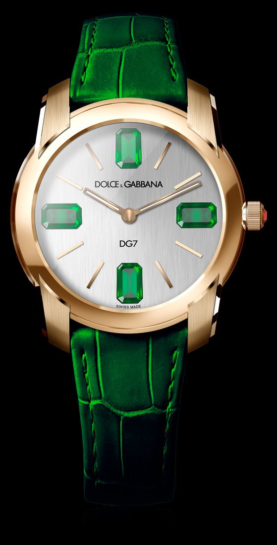 dolce gabbana and watches on