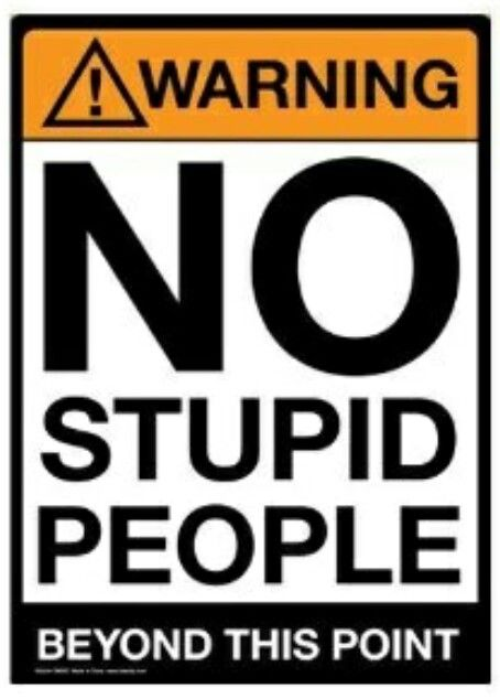 There are days i could use a few of these signs.