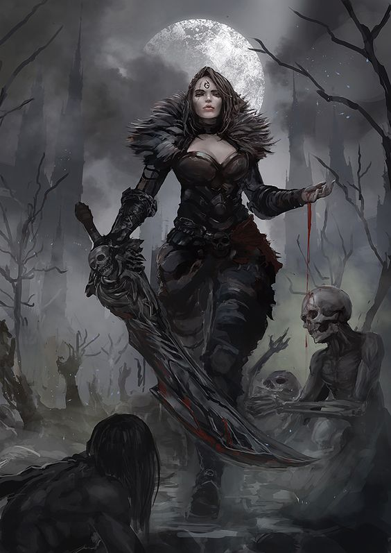 Fantasy women evil - photo#23