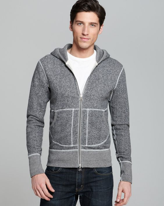 Wings + Horns Tiger Terry Hoodie | Bloomingdales